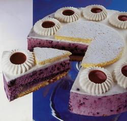 Heidelbeer-Jogurt-Torte